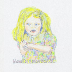Now I'm A Movie Start // colored pencil & marker on paper, 2014