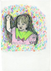PARTY, DUDE // pencil & colored pencil on paper, 2015