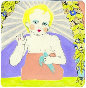Baby Fabulous // ink, marker & colored pencil on paper, 2013