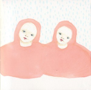 Number 18 // marker & colored pencil on paper, 2011