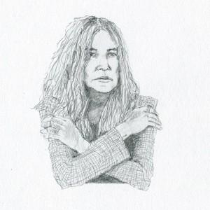 Patti // pencil on paper, 2016
