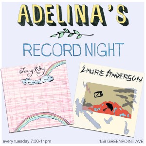 Poster for Adelina's Record Night, 2015