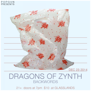 Photography & design for PopGun Dragons of Zynth show, 2014