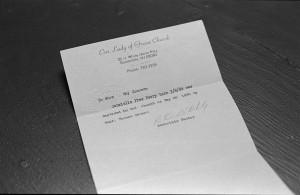 document 1 // 35mm photograph