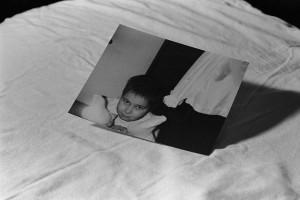childhood photo shoot, 35mm photograph