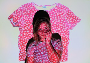 SACRED/TRASH home objects // Zoe with Old Navy Shirt // digital photograph