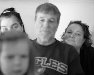 fuzzy family portrait // 120mm photography